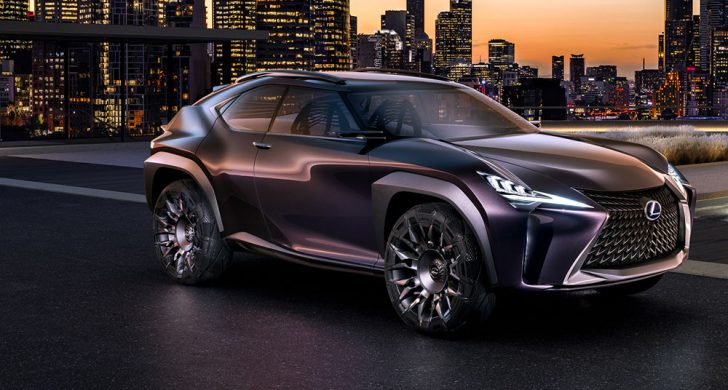 レクサスUXの内外装デザイン、価格、発売日まとめ!斬新SUV!